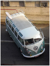 Split Screen VW Campervan